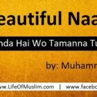 Dil Jis Se Zinda Hai Wo Tamanna Tumhi To Ho | A Beautiful Naat