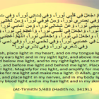 Dua For Light (Noor) In Body, Face, Eyes, Skin, Hair, Ears Soul And Blood