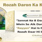 Paradise Has Eight Gates, And One Of Them Is Called Ar Raiyan