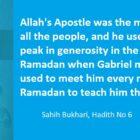 Gabriel Used To Meet Rasul Allah Every night Of Ramadan