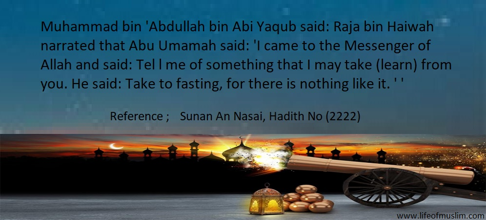 Take To Fasting, For There Is Nothing Like It