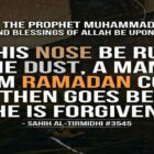 A Man Upon Whom Ramadan Enters And Then Passes