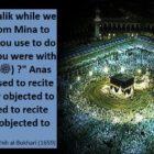 Talbiya And Takbir While Proceeding From Mina To Arafat