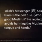 Whose Islam Is The Best | Who Is The Best Muslim?