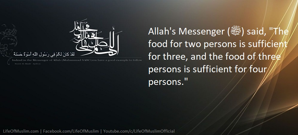 The Food For Two Persons Is Sufficient For Three