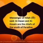 Hasan and Husain (R.A) Are The Leaders Of Youth In Paradise