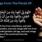 To Seek Refuge From The Fitnah Of The World