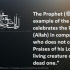 He, Who Does Not Remember His Lord Is Like The Dead Creature